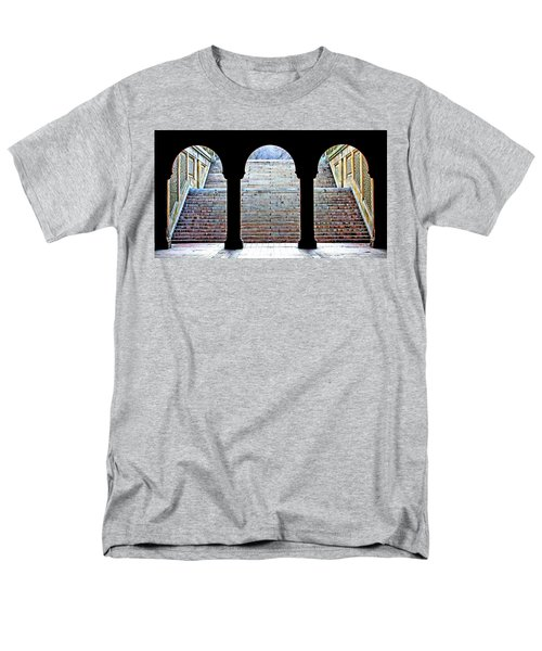 Bethesda Terrace Arcade Men's T-Shirt  (Regular Fit) by Suzanne Stout