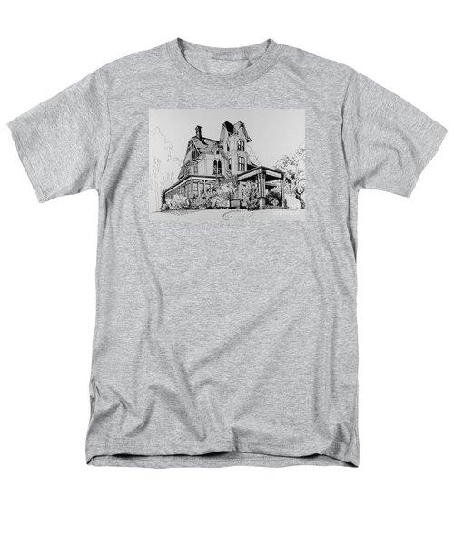 Betsy Ross' Home In Dover, N.j. Men's T-Shirt  (Regular Fit) by Alan Johnson