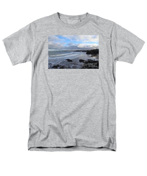 Men's T-Shirt  (Regular Fit) featuring the photograph Between Cornish Storms 2 by Nicholas Burningham