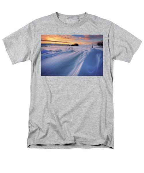 Men's T-Shirt  (Regular Fit) featuring the photograph Big Drifts by Dan Jurak