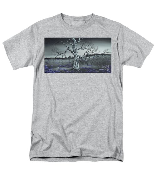 Men's T-Shirt  (Regular Fit) featuring the painting Big Old Tree by Kenneth Clarke