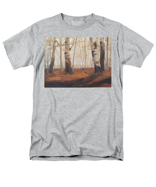 Birches Men's T-Shirt  (Regular Fit)