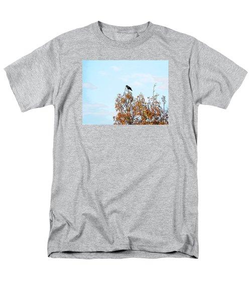 Bird On Tree Men's T-Shirt  (Regular Fit) by Craig Walters
