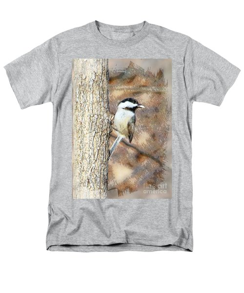Men's T-Shirt  (Regular Fit) featuring the photograph Bird@seed by Robert Pearson