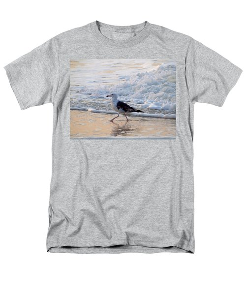 Men's T-Shirt  (Regular Fit) featuring the photograph Black-backed Gull by  Newwwman