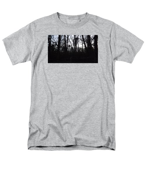 Men's T-Shirt  (Regular Fit) featuring the photograph Black Woods by Don Koester