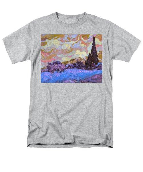 Blend 20 Van Gogh Men's T-Shirt  (Regular Fit) by David Bridburg