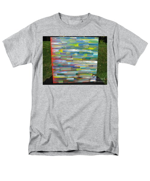 Men's T-Shirt  (Regular Fit) featuring the painting Blindsided by Jacqueline Athmann