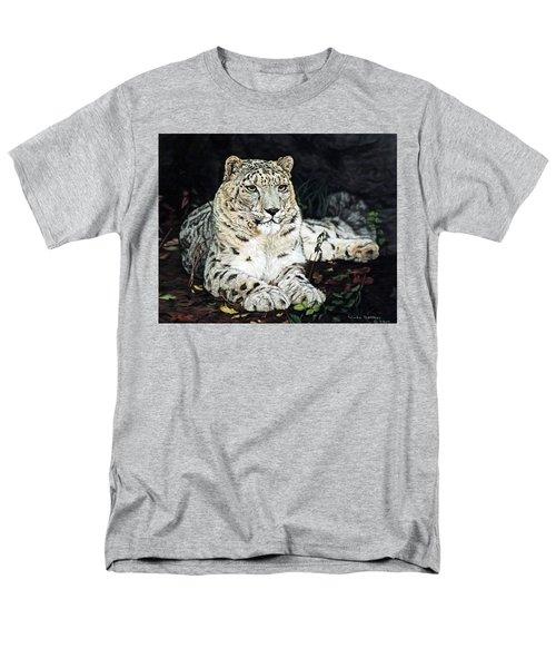 Blizzard Men's T-Shirt  (Regular Fit) by Linda Becker