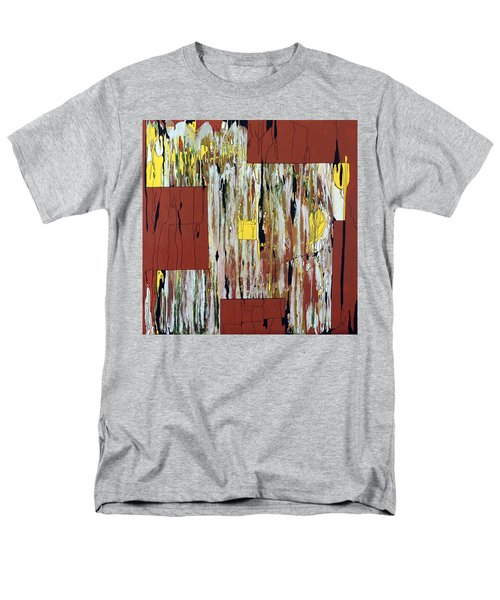 Men's T-Shirt  (Regular Fit) featuring the painting Block Dance by Pat Purdy