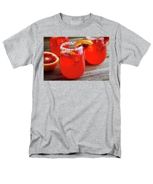 Men's T-Shirt  (Regular Fit) featuring the photograph Blood Orange Margaritas by Teri Virbickis
