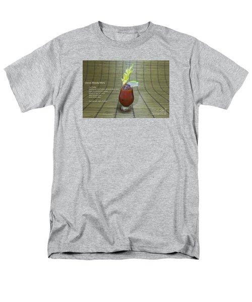 Bloody Mary, Bloody Caesar, Tomato Juice Men's T-Shirt  (Regular Fit) by Karen Foley