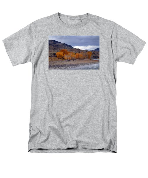 Men's T-Shirt  (Regular Fit) featuring the photograph Blue And Yellow  by Irina Hays