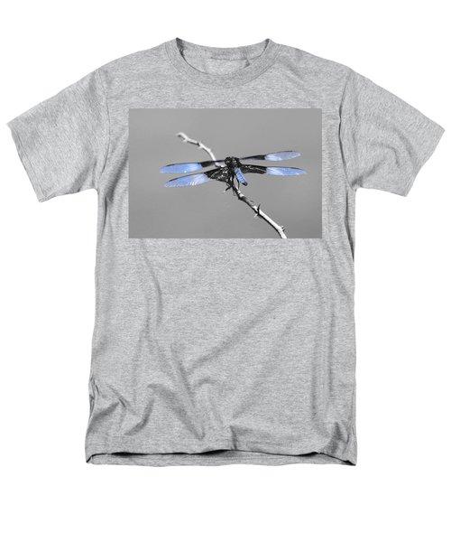 Blue Dragon Men's T-Shirt  (Regular Fit) by Cindy Manero