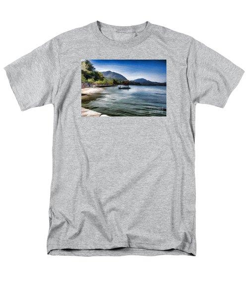 Blue Sea Men's T-Shirt  (Regular Fit) by Pravine Chester