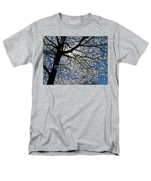 Men's T-Shirt  (Regular Fit) featuring the photograph Blue Skies Smiling At Me by Linda Unger
