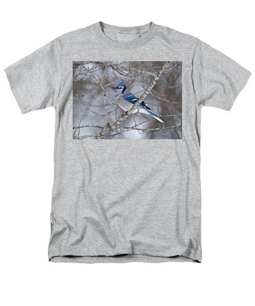 Bluejay 1358 Men's T-Shirt  (Regular Fit) by Michael Peychich