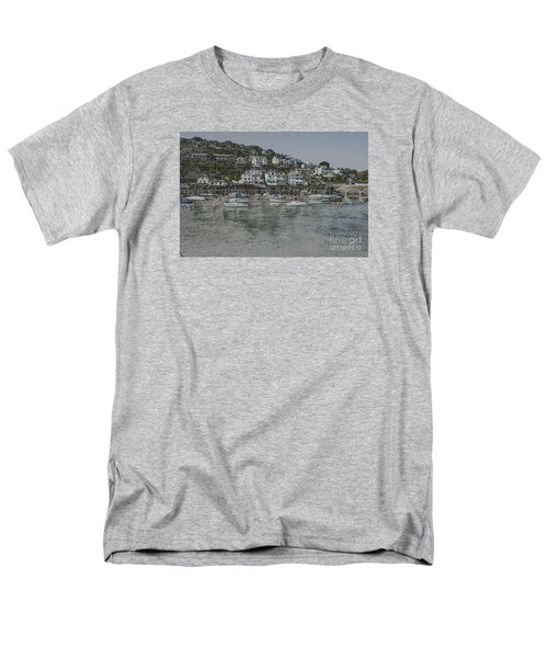 Men's T-Shirt  (Regular Fit) featuring the photograph Boats At Looe by Brian Roscorla