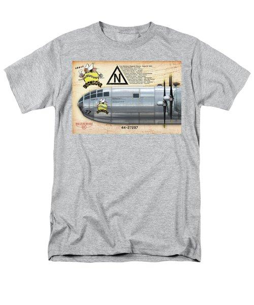 Bockscar Nosearts Men's T-Shirt  (Regular Fit) by David Collins