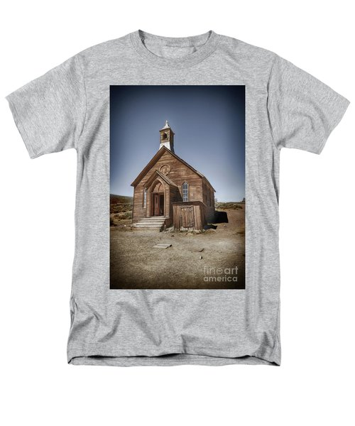 Men's T-Shirt  (Regular Fit) featuring the photograph Bodie Church by Jim  Hatch