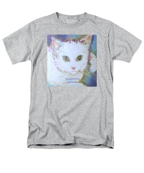 Book Misty My Cat Men's T-Shirt  (Regular Fit) by Denise Fulmer