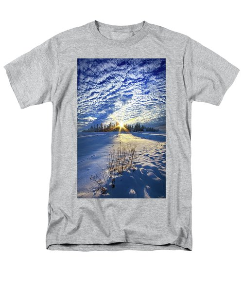 Men's T-Shirt  (Regular Fit) featuring the photograph Born As We Are by Phil Koch