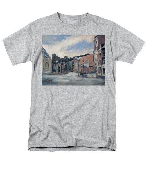 Boulevard La Sauveniere Liege Men's T-Shirt  (Regular Fit) by Nop Briex