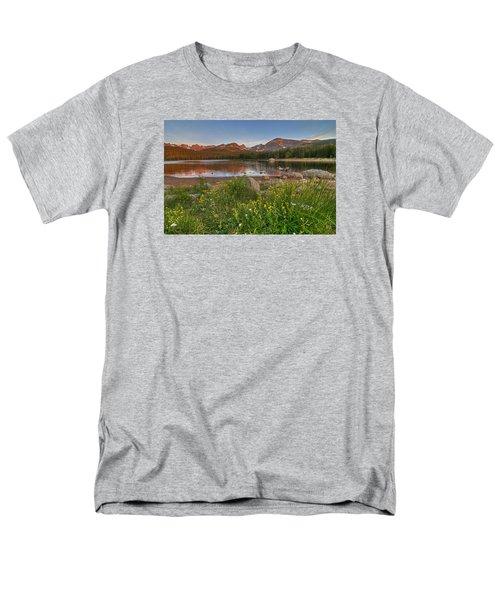 Men's T-Shirt  (Regular Fit) featuring the photograph Brainard Lake by Gary Lengyel