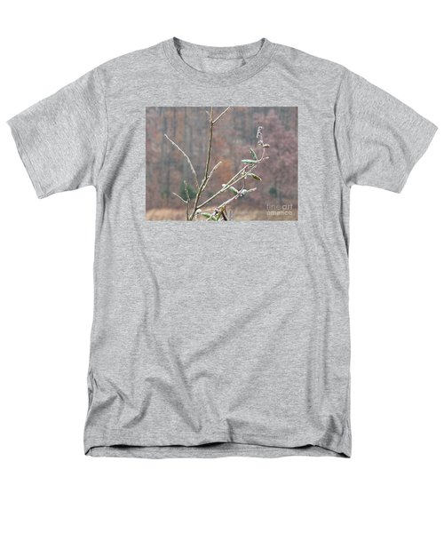 Branches In Ice Men's T-Shirt  (Regular Fit) by Craig Walters