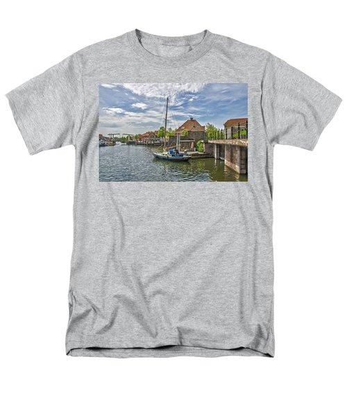Brielle Harbour Men's T-Shirt  (Regular Fit) by Frans Blok