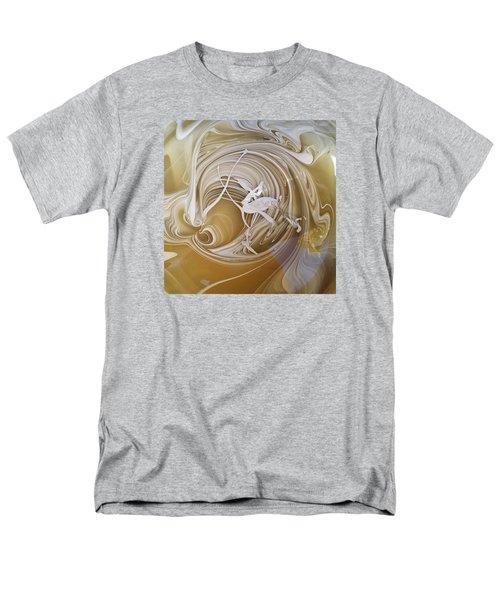 Broken Neck Flamingo Men's T-Shirt  (Regular Fit) by Gyula Julian Lovas