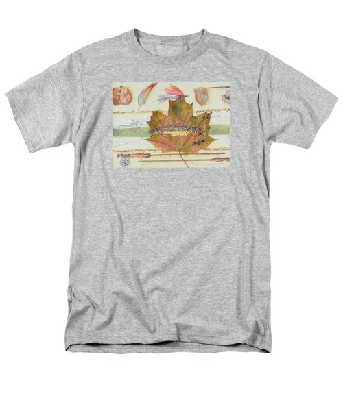 Brook Trout On Fly #2 Men's T-Shirt  (Regular Fit) by Ralph Root