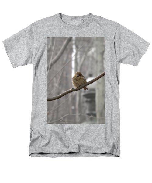 Bryant Park Bird Nyc Men's T-Shirt  (Regular Fit) by Henri Irizarri