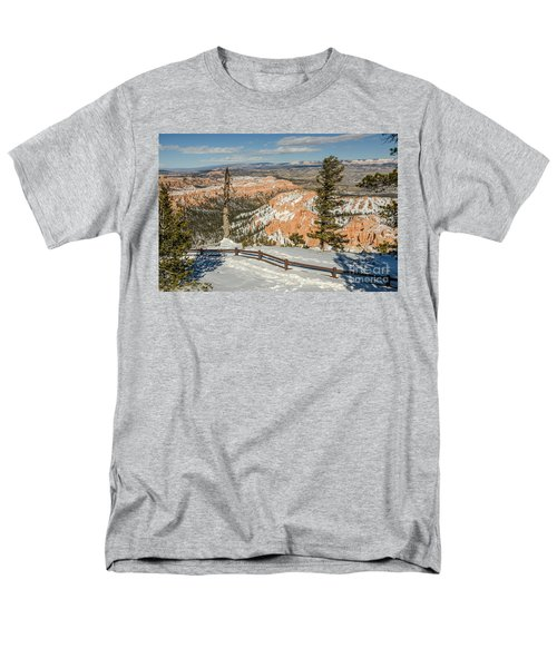 Bryce Amphitheater From Bryce Point Men's T-Shirt  (Regular Fit) by Sue Smith