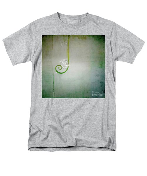 Men's T-Shirt  (Regular Fit) featuring the digital art Bubbling -  S24aabbcc by Variance Collections