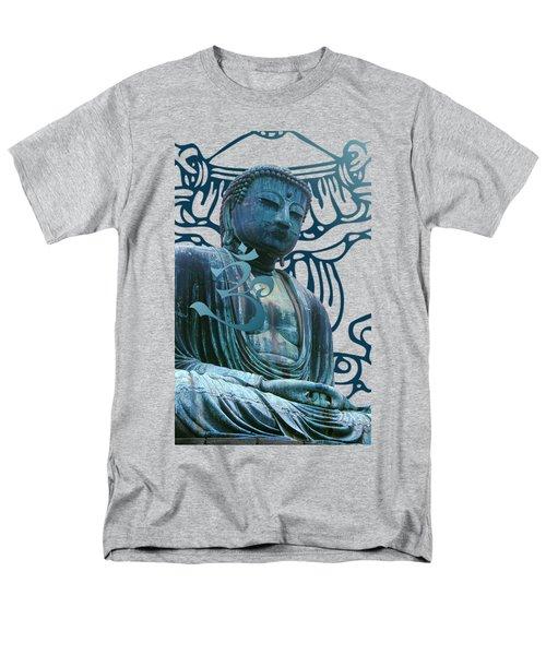 Men's T-Shirt  (Regular Fit) featuring the digital art Buddha Great Statue by Robert G Kernodle