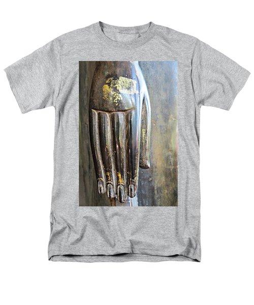 Budha's Hand Men's T-Shirt  (Regular Fit) by Ethna Gillespie