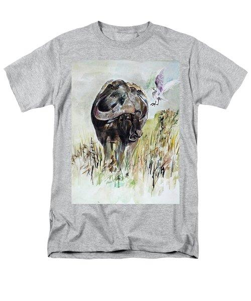 Buffalo Men's T-Shirt  (Regular Fit) by Khalid Saeed