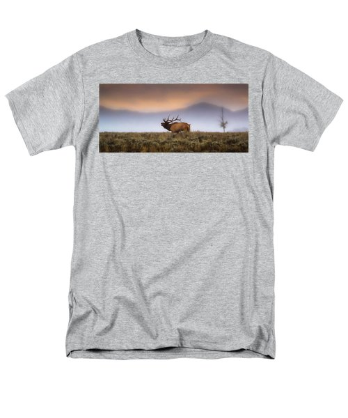Men's T-Shirt  (Regular Fit) featuring the photograph Bugle Boy  by Kelly Marquardt