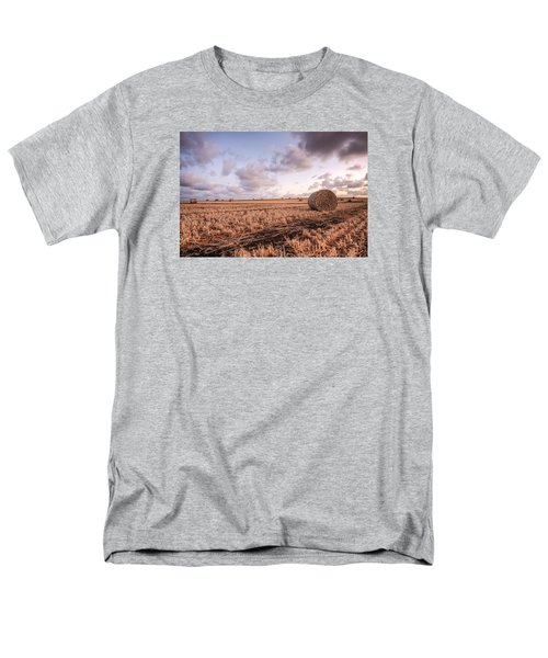 Bundy Hay Bales #2 Men's T-Shirt  (Regular Fit) by Brad Grove