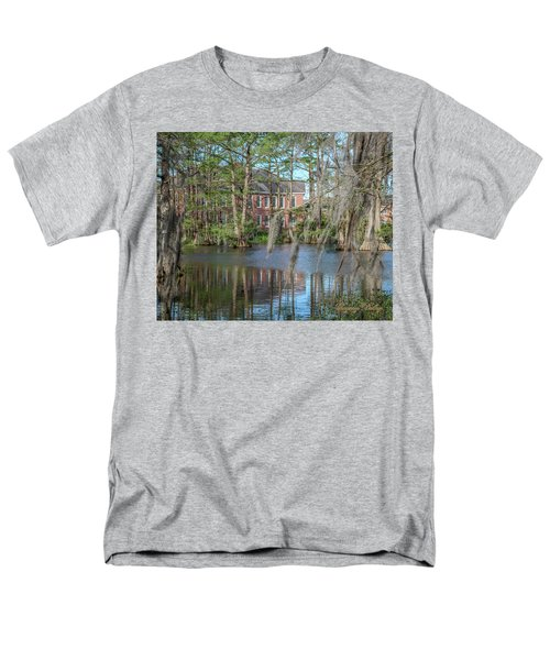 Men's T-Shirt  (Regular Fit) featuring the photograph Burke Hall Cypress Lake by Gregory Daley  PPSA