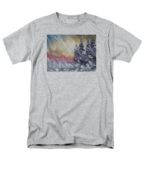 But The Weather Man Said.... Men's T-Shirt  (Regular Fit) by Dan Whittemore