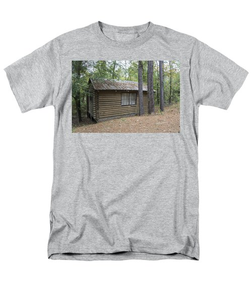 Cabin In The Woods Men's T-Shirt  (Regular Fit) by Ricky Dean