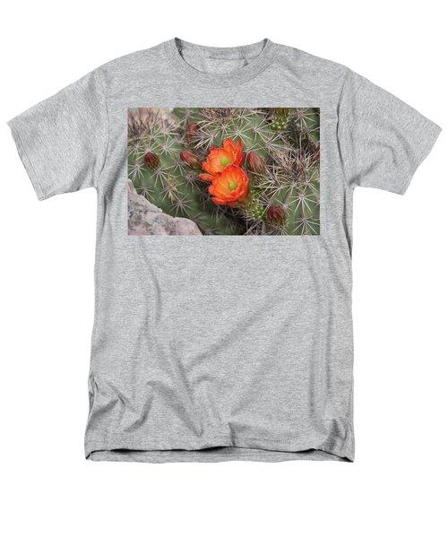Cactus Blossoms Men's T-Shirt  (Regular Fit) by Monte Stevens