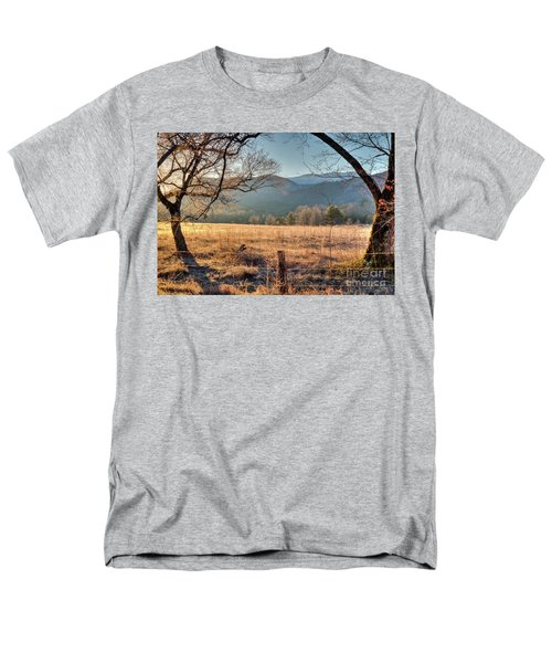 Cades Cove, Spring 2017 Men's T-Shirt  (Regular Fit) by Douglas Stucky