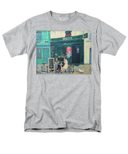 Cafe Odette Men's T-Shirt  (Regular Fit)