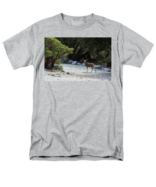 California Mule Deer Men's T-Shirt  (Regular Fit) by Viktor Savchenko