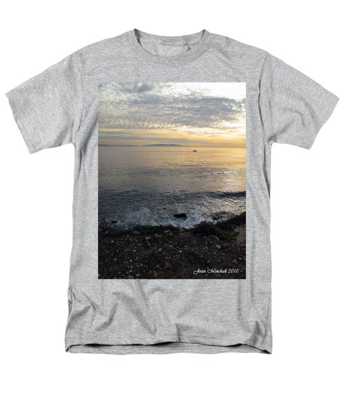 Men's T-Shirt  (Regular Fit) featuring the photograph California Sunset by Joan  Minchak