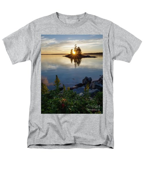 Calm Water At Sunset, Harpswell, Maine -99056-99058 Men's T-Shirt  (Regular Fit)