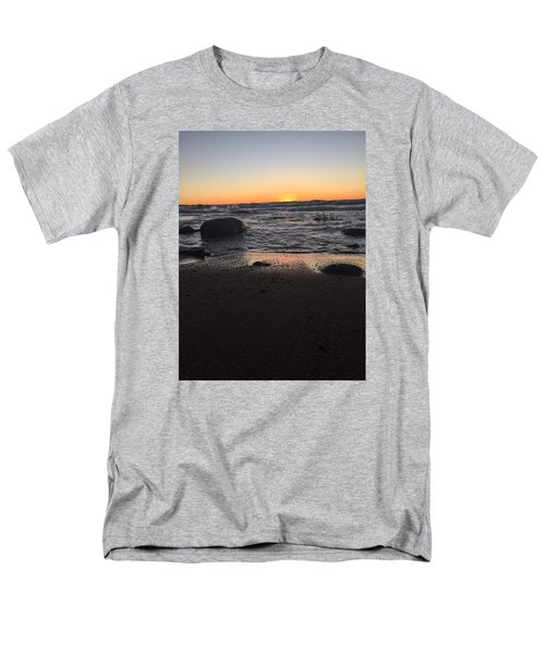Men's T-Shirt  (Regular Fit) featuring the photograph Camp In The Fall by Paula Brown